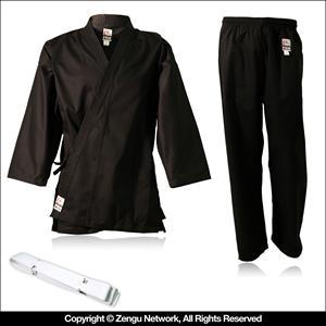 Student Black Martial Arts Uniform